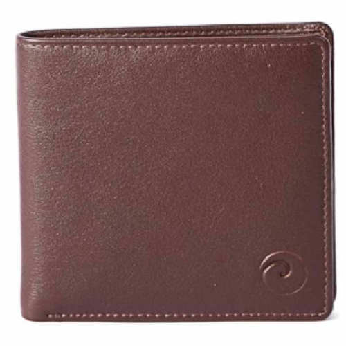 Mala Leather Mens Origin Basic Wallet in Brown Leather with RFID Protection